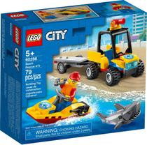 Lego City Resgate Na Praia 79 Peças - LEGO 60286 -