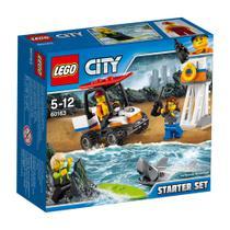 Lego City - Starter Set - Guarda Costeira - 60163 -