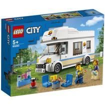 Lego City Trailer de férias Com a Família  190 Peças 60283 -
