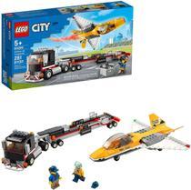 Lego City Transportador Avião de Acrobacias 281 Peças 60289 -