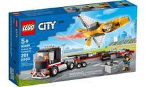 Lego City Transportador De Avião De Acrobacias Aéreas 281 -