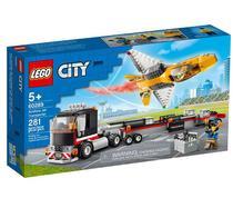 Lego City Transportador De Avião De Acrobacias Aéreas 60289 -