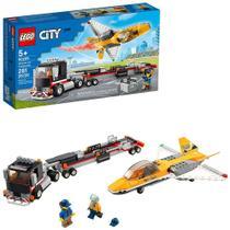 Lego City Transportador De Avião De Acrobacias Aéreas - 60289 -
