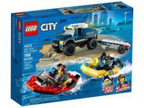 Lego City Transporte de Barco da Policia 60272 -