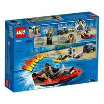 LEGO City - Transporte de Barco da Polícia de Elite - 166 Peças - Lego -