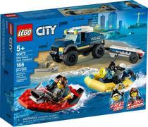 Lego City Transporte De Barco Da Polícia De Elite - 60272 -