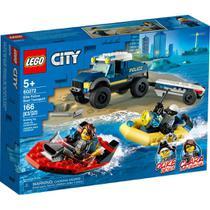 LEGO City - Transporte de Barco da Polícia de Elite - 60272 -
