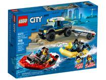LEGO City Transporte de Barco Polícia Elite - 60272