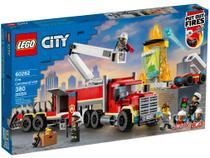 LEGO City Unidade de Controle de Incêndios - 380 Peças 60282