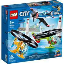 Lego City Veiculo Aviao Corrida Aerea com 140 Peças 60260 -