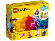 LEGO Classic Blocos Transparentes Criativos - 500 Peças 11013