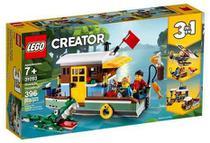 Lego Creator 3 em 1 Casa Flutuante Riverside 31093 Original -