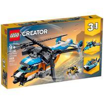 Lego Creator 3 Em 1  Helicóptero Com 2 Hélices 31096 -