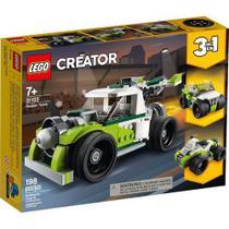 Lego Creator 3em1 Veiculo Caminhao Foguete 198 Peças - 31103 -