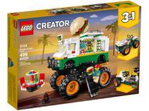LEGO Creator Caminhão Gigante de Hambúrguer - 499 Peças 31104