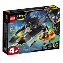 Lego Dc Batman Perseguição De Pinguim Em Batbarco 76158 - 54 Peças -