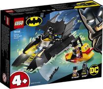 Lego dc batman perseguicao de pinguim em batbarco! 76158 -