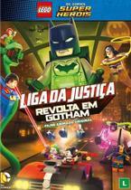 Lego dc comics super herois - liga da justiça - revolta em gotham - Warner Home Video