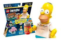 Lego Dimensions Level Pack Simpsons Homer 71202 - Warner Bros