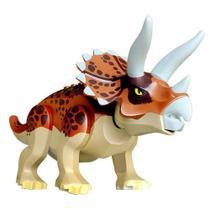 Lego Dinossauros Jurassic World Velociraptor Triceratóps - Outlet