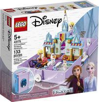 Lego disney aventuras do livro de contos da anna e da elsa 43175 -