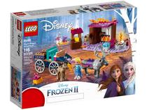 LEGO Disney Frozen 2 Aventura em Caravana Elsa - 116 Peças 41166