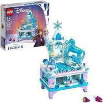 Lego Disney Frozen II  A Criação do Porta Joias da Elsa -