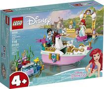LEGO Disney - O Barco de Cerimônia de Ariel - 114 Peças - 43191 -