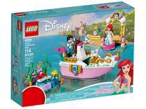LEGO Disney O Barco de Cerimônia de Ariel - 114 Peças 43191