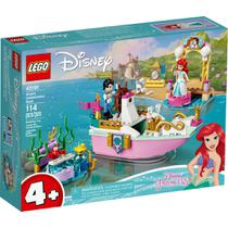 LEGO Disney - O Barco de Cerimônia de Ariel - 43191 -