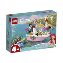 LEGO Disney Princess Barco de Cerimônia da Ariel - 43191 -