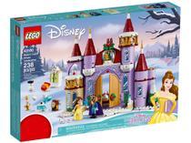 LEGO Disney Princess Celebração Inverno Castelo - Bela 238 Peças 43180