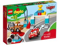 LEGO Duplo Dia de Corrida Relâmpago McQueen - 42 Peças 10924