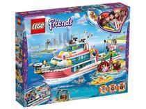 LEGO Friends Barco da Missão de Resgate 908 Peças - 41381