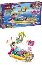 Lego Friends Barco De Festa 640 Peças 41433 -