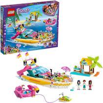 Lego Friends Brinquedo Blocos De Montar Barco De Festa 41433 -