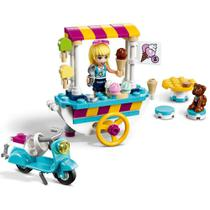 Lego friends - carrinho de sorvetes - lego 41389 -
