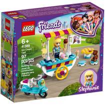 LEGO Friends - Carrinho de Sorvetes - Stephanie - 41389 -