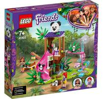 Lego friends casa do panda na arvore da selva 41422 -