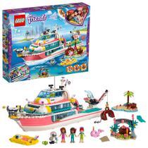 Lego Friends Missao com o Barco de Resgate 908 Peças 41381 -