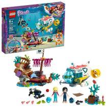 Lego Friends Missao De Resgate De Golfinhos 363 Pecas 41378 -
