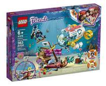 Lego Friends Missao Resgate De Golfinhos 363 peças 41378 -
