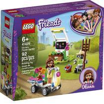 Lego Friends O Jardim De Flores Da Olívia 92 Peças 41425 -