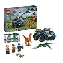 LEGO Fuga de Gallimimus e Pteranodonte - 75940 - 391 peças -