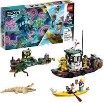 Lego Hidden Side - Barco de Pesca de Camarao Naufragado - 70419 -