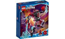 Lego Homem Aranha Robo Miles Morales 125 Peças 76171 -