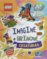 Lego iconic. imagine e brinque - criaturas - Happy Books