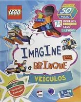Lego iconic. imagine e brinque - veiculos - Happy Books