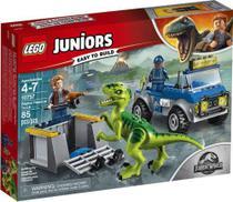 Lego Juniors Jurassic World - Caminhão de Resgate de Raptor 10757 -