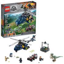 Lego Jurassic World A Perseguição Helicóptero 75928 -